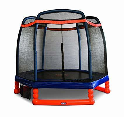 toddler trampoline with swing