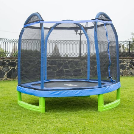 my first trampoline with swing