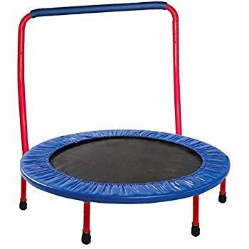 toddler trampoline with handlebar