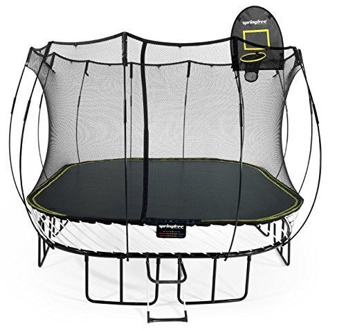 15 ft square trampoline