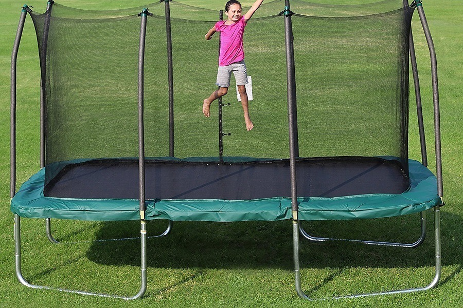 best rectangular trampoline