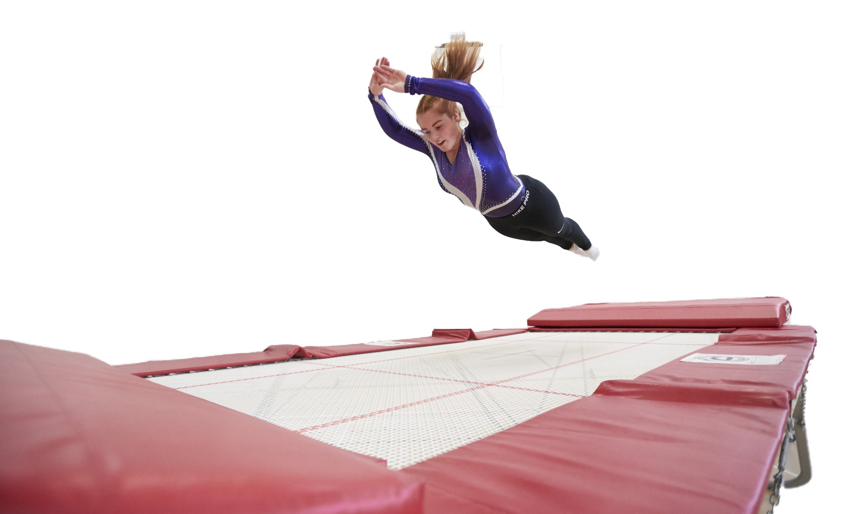 in ground trampoline
