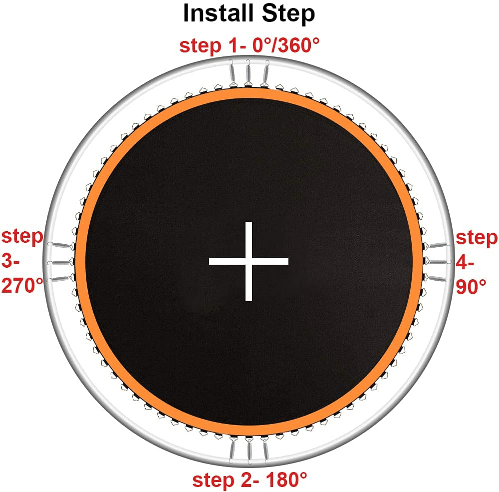 How To Install 14 ft Trampoline Mat