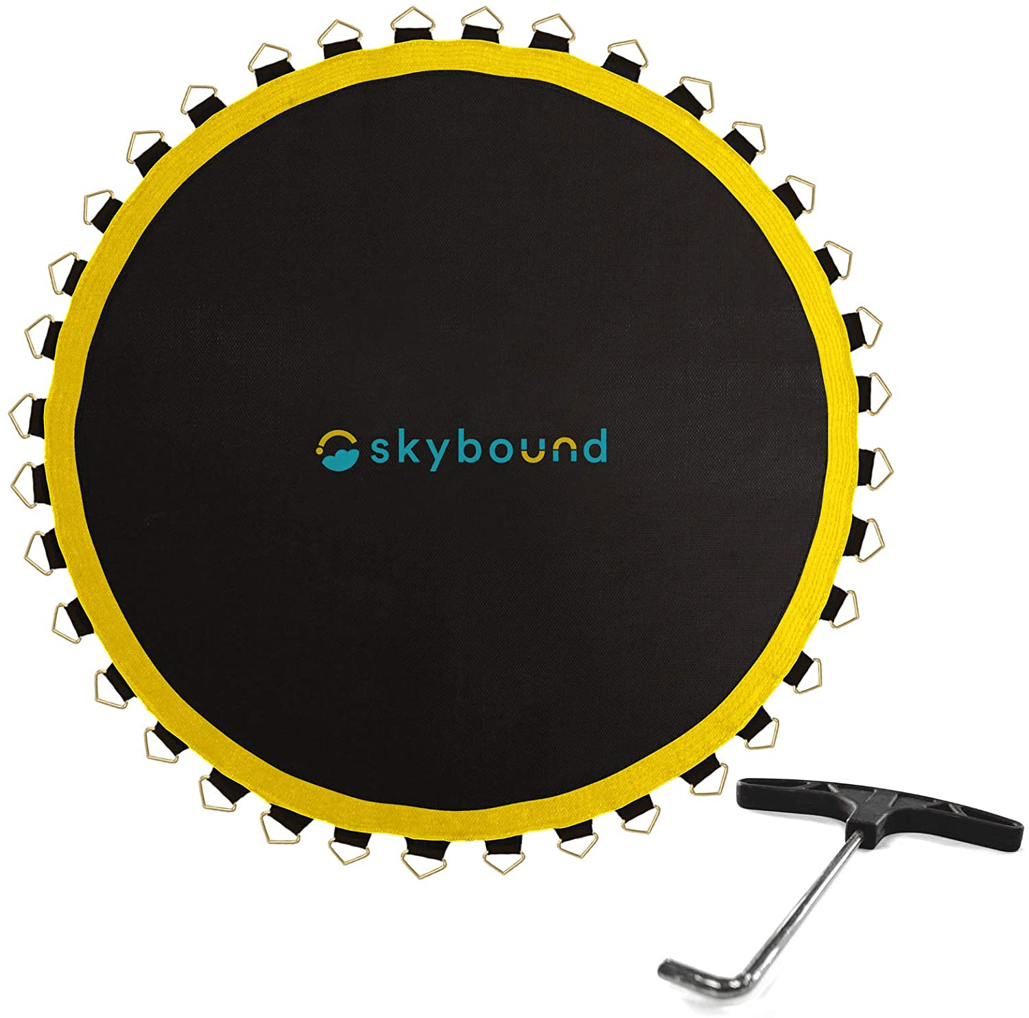 SkyBound Premium 14 Foot Trampoline Replacement Mat With Spring Tool