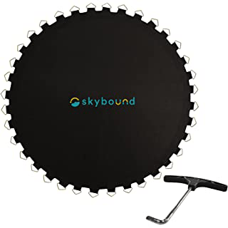 SkyBound Standard 14 ft Replacement Trampoline Mat With Spring Tool